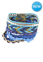 MINT Womens Mixed Maxi Bracelet blue