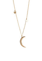 MINT Womens Moon & Stars Necklace gold plated