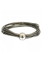 MINT Womens Multi Strand Magnetic Silver Bracelet silver