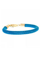MINT Womens Neon Mesh Gold Bracelet blue