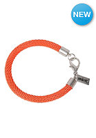 MINT Womens Neon Mesh Silver Bracelet neon orange