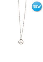 MINT Womens Peace Card Necklace silver finishing