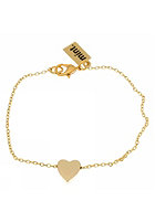 MINT Womens Sliding Heart Bracelet gold