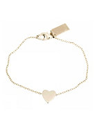 MINT Womens Sliding Heart Bracelet silver