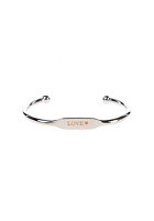 MINT Womens Text Cuff Bracelet silver - love