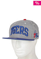 MITCHELL NESS 76ers Arch Road Grey Cap team colour