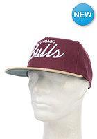 MITCHELL NESS Allday Chicago Bulls Snapback Cap burgundy