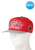 MITCHELL NESS Arch Detroit Redwings Snapback cap red