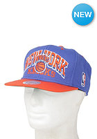 MITCHELL NESS Arch New York Knicks Snapback cap blue