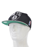 MITCHELL NESS Brooklyn Nets Xl Logo 2 Tone Snapback Cap black