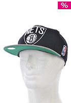 MITCHELL NESS Brooklyn Nets Xl Logo 2 Tone Snapback Cap black