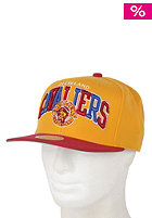 MITCHELL NESS Cavaliers Arch Logo Tri Pop  Cap team colour