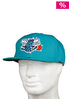 MITCHELL NESS Charlotte Hornets Basic Solid Team Snapback Cap teal