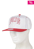 MITCHELL NESS Chicago Bulls Basic Solid Team Snapback Cap red
