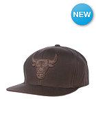 MITCHELL NESS Chicago Bulls Strapback Cap brown