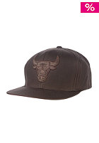 MITCHELL NESS Chicago Bulls Strapback Cap brown