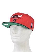 MITCHELL NESS Chigago Bulls Xl Logo 2 Tone Snapback red