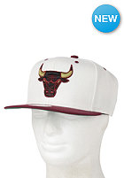 MITCHELL NESS Cream Top Chicago Bulls Snapback Cap cream /team colour