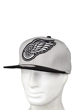 MITCHELL NESS Detroit Redwings XL Logo Cap grey/black
