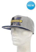 MITCHELL NESS Division Michigan Snapback Cap grey heather