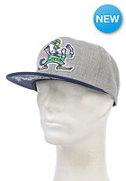 MITCHELL NESS Division Notre Dame Snapback Cap grey heather