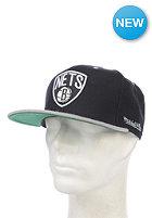 MITCHELL NESS Flipside Brooklyn Nets Snapback Cap black