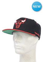 MITCHELL NESS Flipside Chicago Bulls Snapback Cap black