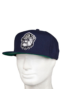MITCHELL NESS Georgetown University Basic Logo Snapback Cap grey