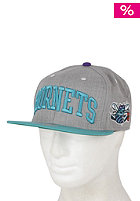 MITCHELL NESS Hornets Arch Road Grey Cap team colour