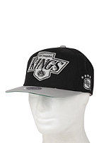 MITCHELL NESS LA Kings XL Logo 2 Tone Snapback Cap black