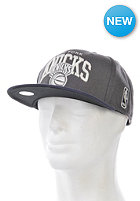 MITCHELL NESS Melton Jersey Arch New York Knicks Snapback Cap charcoal