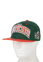 MITCHELL NESS Miami Arch Gradient Snapback Cap grey