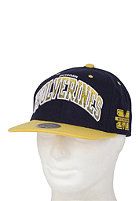 MITCHELL NESS Michigan Arch Gradient Snapback Cap navy