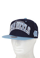 MITCHELL NESS North Carolina Arch Gradient Snapback Cap navy