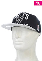 Nuarc Brooklyn Nets Snapback Cap black