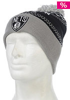 MITCHELL NESS Nujacq Cuff Brooklyn Nets Knit Beanie black