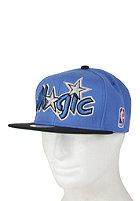 MITCHELL NESS Orlando Magic XL Logo 2 Tone Snapback Cap blue