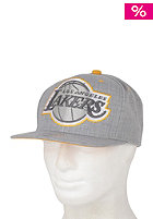 MITCHELL NESS Road XL Lakers Snapback Cap dark grey/team colour lakers