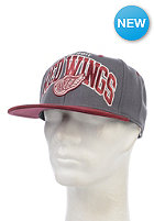 MITCHELL NESS Scholar Detroit Red Wings Snapback Cap grey