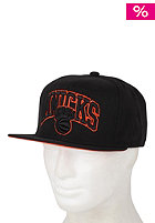 MITCHELL NESS Team Arch Knicks Snapback Cap black/team colour knicks