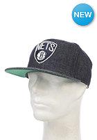 MITCHELL NESS Team Up Brooklyn Nets Snapback Cap black