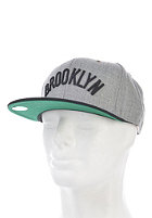 MITCHELL NESS Vintage Brooklyn Nets Wool Strapback Cap heather grey