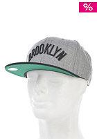 MITCHELL NESS Vintage Brooklyn Nets Wool Strapback Cap heather grey