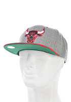 MITCHELL NESS Vintage Chicago Bulls Wool Strapback Cap heather grey