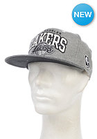 MITCHELL NESS Warm-Up Los Angeles Lakers Snapback Cap grey heather