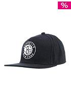 MITCHELL NESS Wool Solid Brooklyn Nets Snapback black