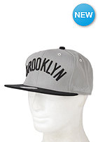 MITCHELL NESS Wordmark Brooklyn Nets Snapback Cap grey