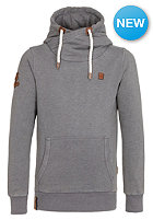 NAKETANO Body Murat II Hooded Sweat heritage dark grey melange