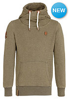 NAKETANO Body Murat II Hooded Sweat heritage olive melange