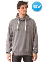 NAKETANO Deutsche & Albaner II Hooded Sweat dark grey melange